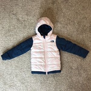 The North Face Plaid Puffer Jacket
